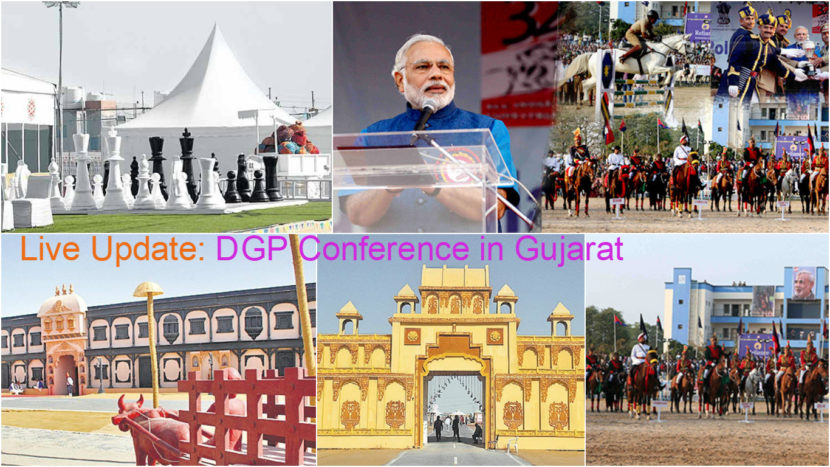 DGP Conference at Rann Utsav Dhordo